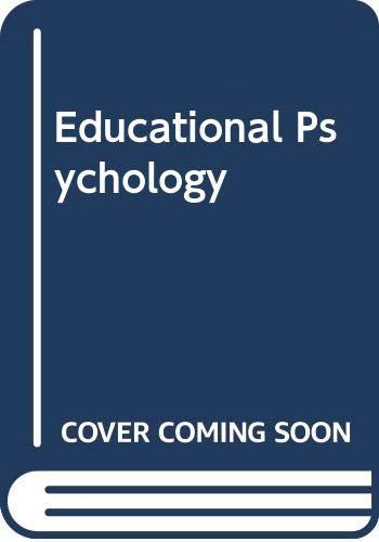 9780030145612: Educational Psychology