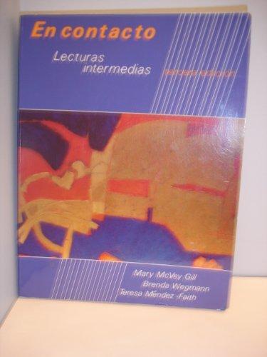 9780030145926: En Contacto: Lecturas Intermedias (English and Spanish Edition)