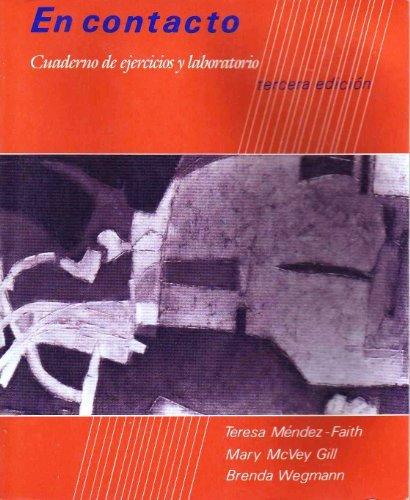 9780030145933: En contacto: Cuaderno de ejercicios y laboratorio (tercera edicion)