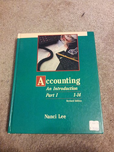9780030145971: Accounting: An Introduction (The Dryden Press series in accounting)