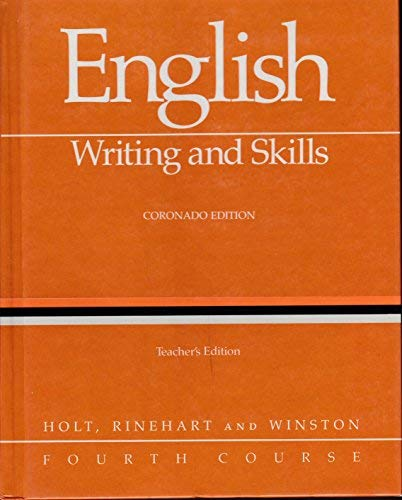 9780030146299: English: Writing and Skills, Second Course