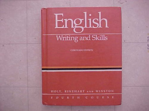 9780030146527: English: Writing and Skills, Fourth Course