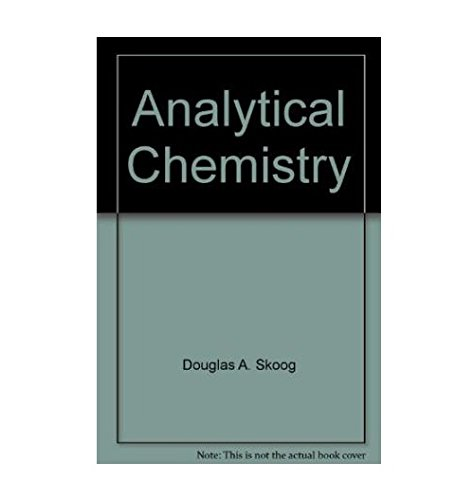 9780030148286: Analytical Chemistry: An Introduction