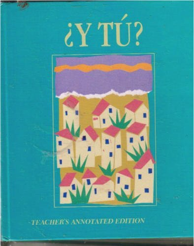 9780030149382: Y Tu Spanish 1: 1989
