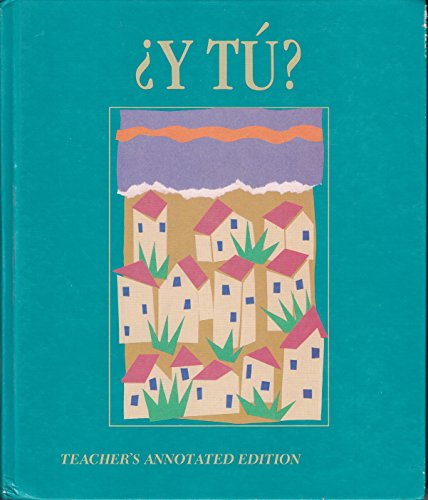 9780030149399: Y Tu Spanish 1: 1989