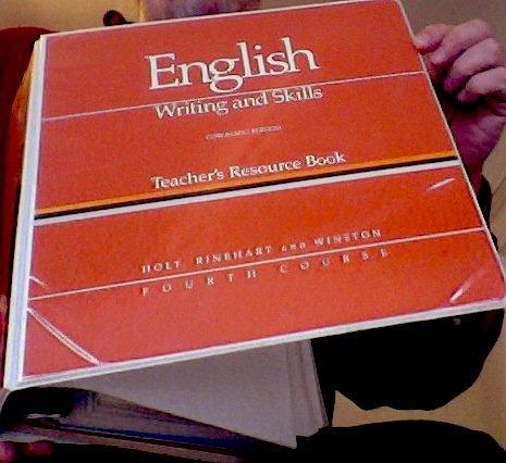 9780030149627: ENGLISH: Writing and Skills.........Coronado Edition Teacher's Resource Book 4th Edition