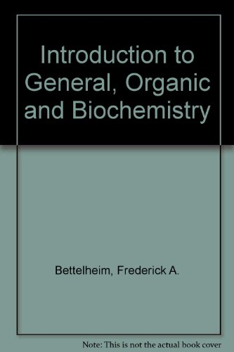 9780030149924: Introduction to General, Organic and Biochemistry