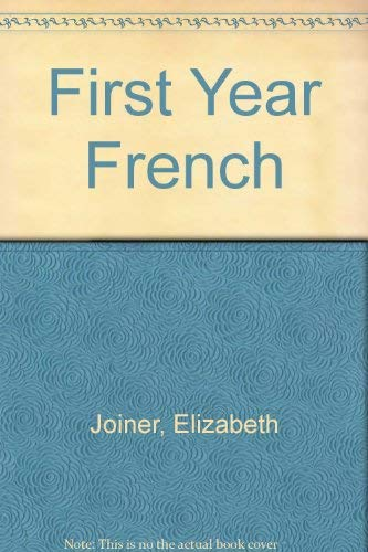 9780030150067: First Year French