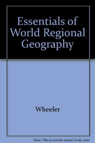 9780030150487: Essentials of World Regional Geography