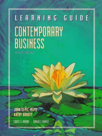 9780030151590: Contemporary Business Learning Guide