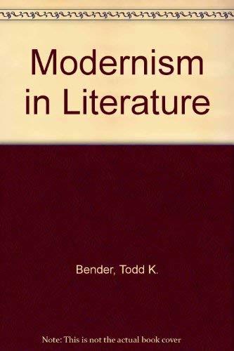 9780030151866: Modernism in Literature