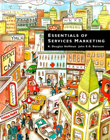 9780030152177: Essentials of Services Marketing (The Dryden Press series in marketing.)