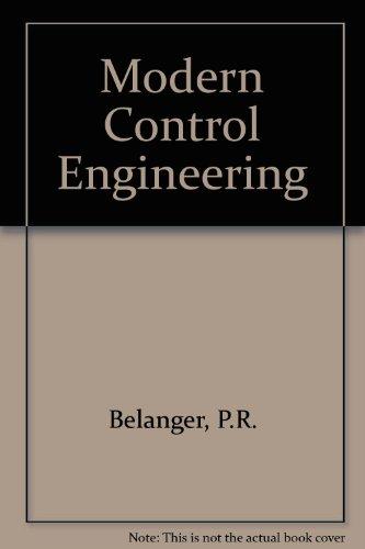 Modern Control Engineering Belanger, P.R.