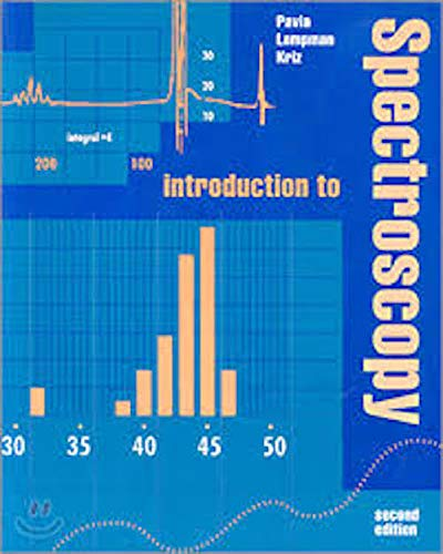 9780030152481: Introduction to Spectroscopy: Guide for Students of Organic Chemistry (Saunders golden sunburst series)