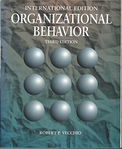 9780030152641: Organizational Behaviour