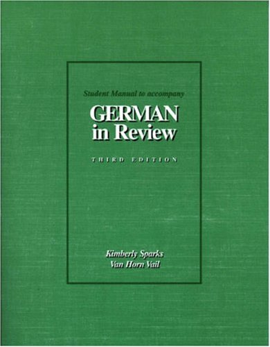 9780030152924: German in Review Text