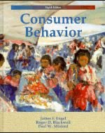 Consumer Behaviour: Engel, J.F.; Blackwell, R.D.; Miniard, P.W.