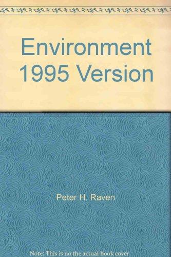 9780030155239: Environment 1995 Version