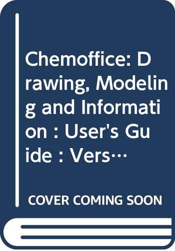 9780030156144: Chemoffice: Drawing, Modeling and Information : User's Guide : Version 2.0 for Microsoft Windows