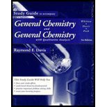 9780030156977: Study Guide to accompany General Chemistry and General Chemistry With Qualitative Analysis, 5th edition