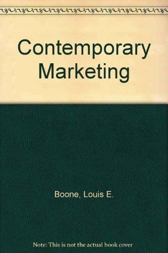 9780030157684: Contemporary Marketing: Ms-DOS 5.25, 1.2M