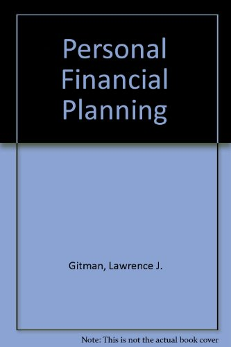 9780030159985: Personal Financial Planning/Book and Worksheets