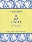 9780030161780: Da Capo: An Italian Review Grammar (Laboratory Manual)