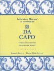 9780030161780: Da Capo: An Italian Review Grammar (Laboratory Manual)