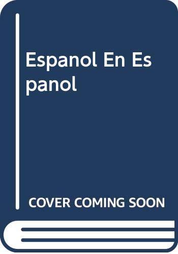 9780030162398: Español en español