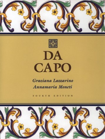 9780030162732: Da Capo (Text/Tape Package)