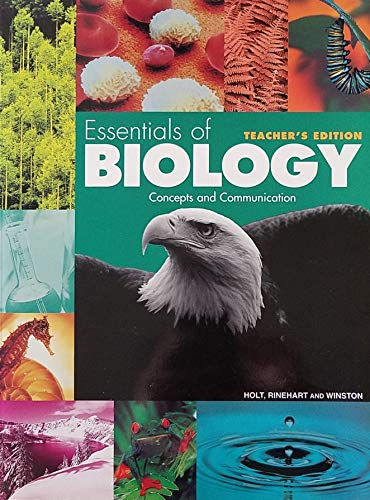 9780030164620: Essentials of Biology: Concepts and Communication, Teacher's Edition