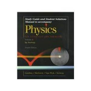 9780030164873: Physics for Scientists & Engineers: Study guide and Student Solutions Manual - Volume 2