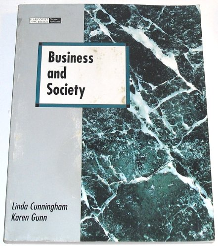 9780030165924: Business and Society