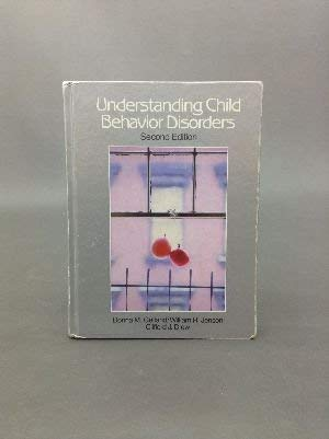 Understanding Child Behavior Disorders: An Introduction to Child Psychopathology (0030166187) by Gelfand, Donna M.; Jenson, William R.; Drew, Clifford J.