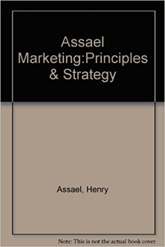 9780030166228: Assael Marketing:Principles & Strategy