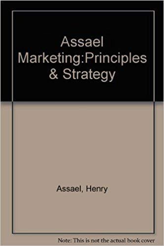 9780030166228: Assael Marketing:Principles & Strategy (The Dryden Press series in marketing)