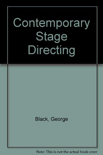 9780030166334: Contemporary Stage Directing