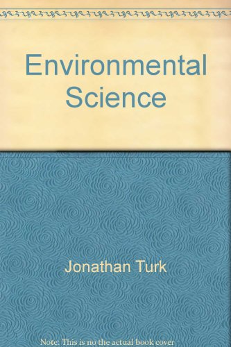 9780030166648: Environmental Science (Saunders Golden Sunburst Series)