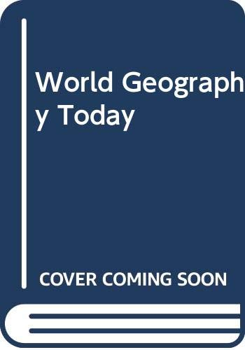 9780030166730: World Geography Today