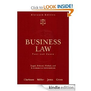 9780030167119: Business law: Text and cases