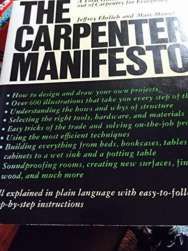 9780030167614: The Carpenter's Manifesto