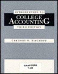 9780030168444: Introduction to College Accounting: Chapters 1-28