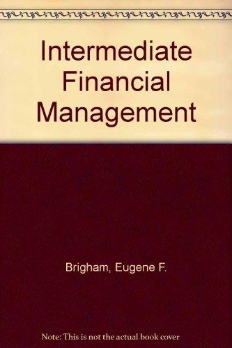9780030168987: Intermediate Financial Management