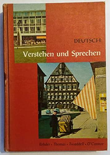 9780030170003: Verstehen und Sprechen