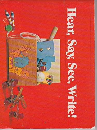 9780030170461: Hear, Say, See, Write! (The Holt Basic Reading System, Level 2, Teacher's Edition)