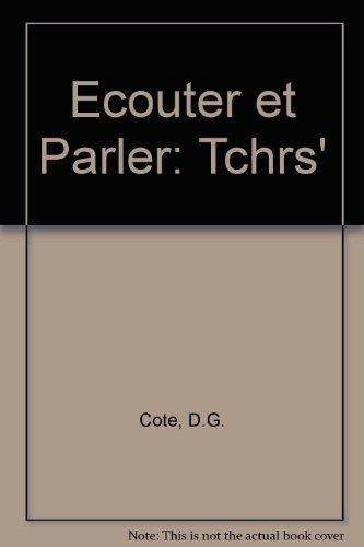 9780030170805: Ecouter et Parler