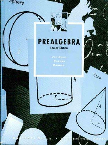 9780030171529: Prealgebra