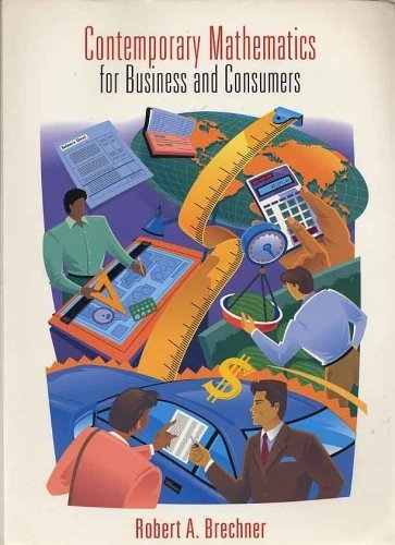 9780030172472: Contemporary Mathematics for Business and Consumers (The Dryden Press Series in Management)