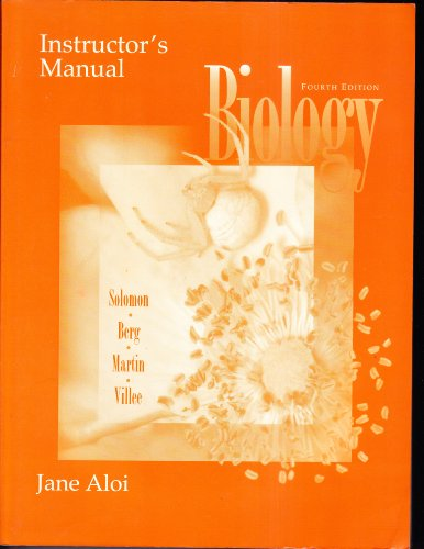 9780030172939: Biology (Instructor's Manual)