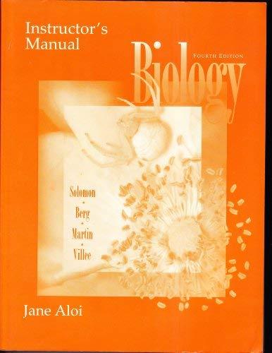 Biology (Instructor's Manual): Jane Aloi